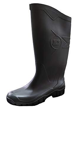 Stivale Dunlop Dane Ideale per Caccia, Pesca, Lavoro, Agricoltura Varie Misure Collo Alto (44 EU)