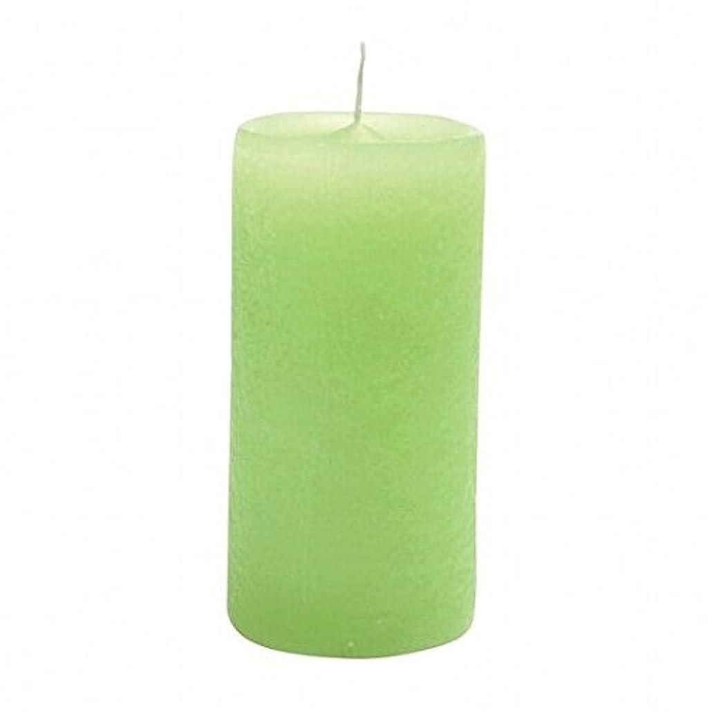 レザーアドバンテージページYANKEE CANDLE(ヤンキーキャンドル) ラスティクピラー50×100 「 ライトグリーン 」(A4930020LG)