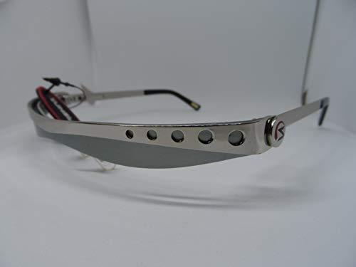 Sunblade Sun Visor, Sonnenschutz-Brillengestell/Visier. Modell: Unisex Metalls, Sunvisor SB 303, Gestell und Visier: metallic gebürstet