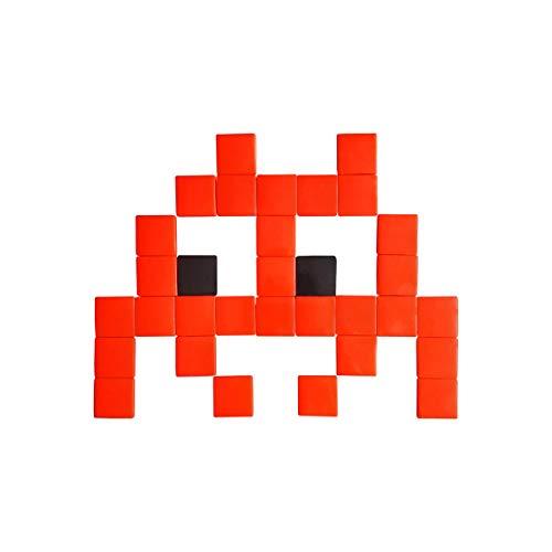 Fenel & Arno – Mosaico para exterior e interior Mini Invaders Lentes coloridos adhesivos