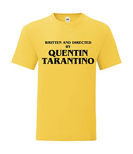 Bughyprint Maglia Maglietta Uomo Written And Direct Tarantino, M