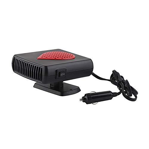 CHENJIAO Universal Black 12v24v Auto-Innen Heizung Zubehör Heizlüfter Fenster Mist Remover Energieeinsparung Praktikabilität Auto Heater (Color Name : 12V)