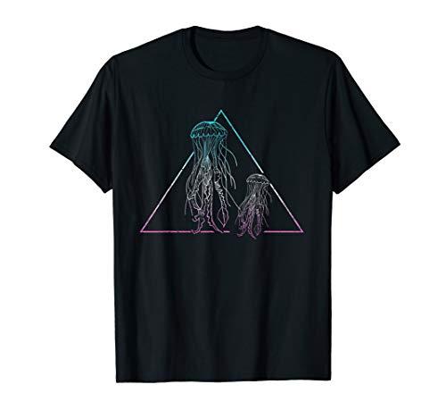 Ozean I Meeresbewohner I Meer I Tauchen I Cooles Quallen T-Shirt