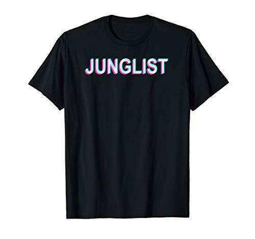 Junglist Movement I Drum n Bass Trippy Glitch Junglist T-Shirt