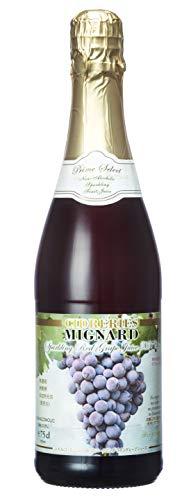 Cidreries Mignard(シドルリ ミニャール)『スパークリング ワイングレープ ジュース 赤』