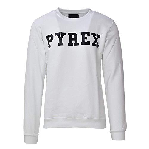 Pyrex Felpa Uomo Colore Bianco Modello 34203 (M)