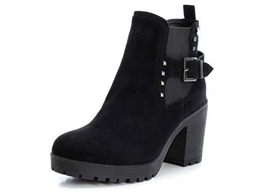 XTI Stivali per Le Donne, Colore Nero, Marca, Modello Stivali per Le Donne 49363X Nero