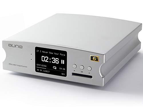Aune X5s 6th Bluetooth AptX HD Edition - Reproductor de música digital multifunción (DAC)