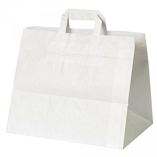 Kuchentragetasche weiß - Packung á 25 Stück - Format: 32 x 22 x 27cm