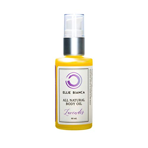 Ellie Bianca Lavender Luxury Oil | Calm and Detoxify | Heal Dry Skin and Lock in Moisture for Radiant Skin Tone | Therapeutic Luxury Oil for Face, Hands, Feet