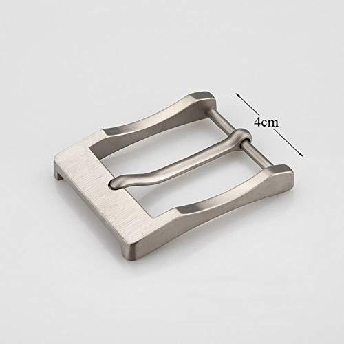 RIDS 36 / 40mm Titan Nadelgürtel Schnalle Gürtelschlaufe Leichtmetall Antiallergisch gegen Haut Männer Gürtel Zubehör für Gürtel DIY Leder Handwerk, Antik Kupfer