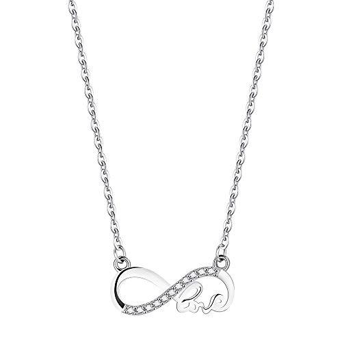 F.ZENI Damen Kette 925 Sterling Silber Halskette