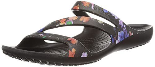 Crocs Women's Kadee II Sandals, Black, 8