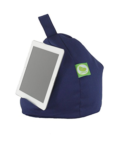 iPad, E-Reader & Bücher Mini BeanBag Sitzsack von Bean Lazy passend für alle Tablets and E-Readers - Marineblau