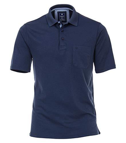 Redmond Herren Poloshirt unifarben Hoher Hochwertiger Baumwollmix