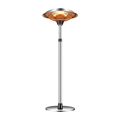 Free Standing Patio Heater, Outdoor Balcony Waterproof Electric Heater, Height Adjustment, 3000W P 20 fengong