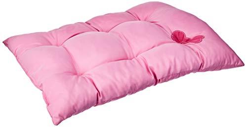 Futon tecido rosa pet para cães e gatos ss pets para cães