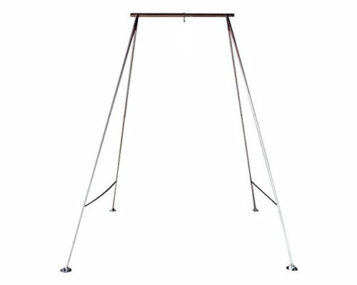 Uplift Active Stainless Steel Height Adjustable Aerial Fitness Rig for a Yoga Hammock, Aerial Hoop, and Silks