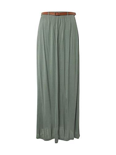 VERO MODA Damen VMLINN Belt Ankle Skirt Color Rock, Night Sky, M