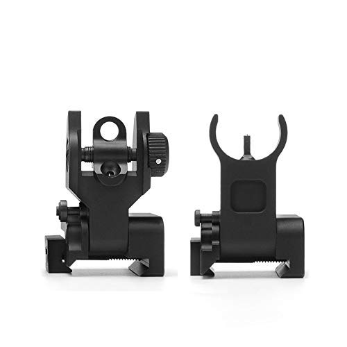 SOUFORCE Premium Flip Up Mil Spec Iron Sights Front and