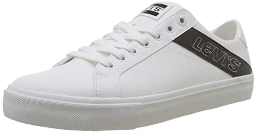Levi's Herren Woodward L Sneaker, Weiß (Sneakers 51), 45 EU
