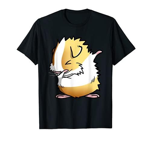 Meerschweinchen abyssinian Dabbing-Shirt für Haustiere (Meerschweinchen
