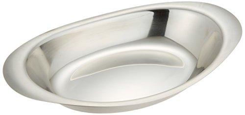 イケダ カレー皿 10- 1/2インチ 丸小 ステンレス 日本 NKL08003