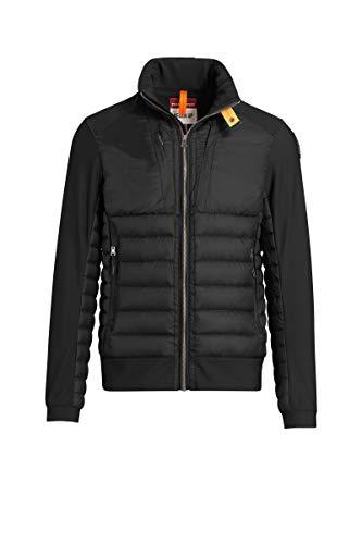 Parajumpers Herren Lightweight Daunenjacke Steppjacke Shiki Man mit Nylon-Details - schwarz