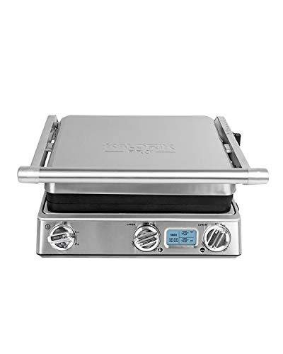 Kalorik Pro Digital 6-in-1 Contact Grill, Stainless Steel