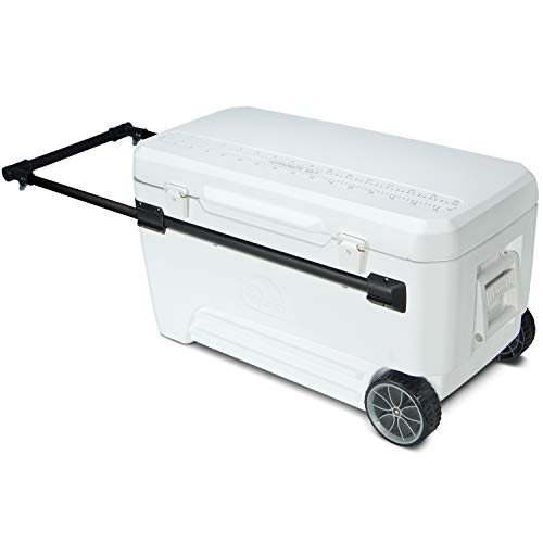 Igloo #34378 Glide Cool box, 104 Liter, White