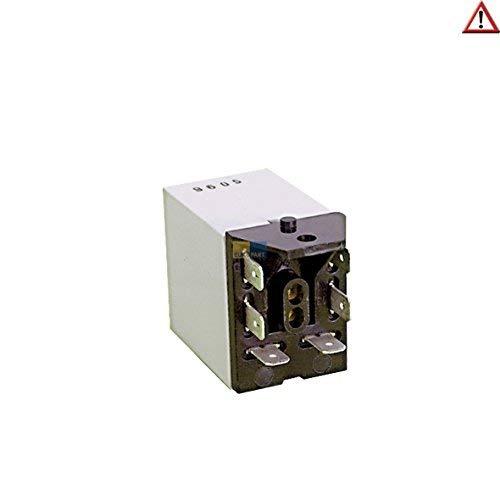 ORIGINAL Relais Heizung Heizregister Heizelement mit 6 Anschlüssen 230V Trockner Waschmaschine Spülmaschine Miele 1089253 auch AEG Rondo Zanker V-Zug