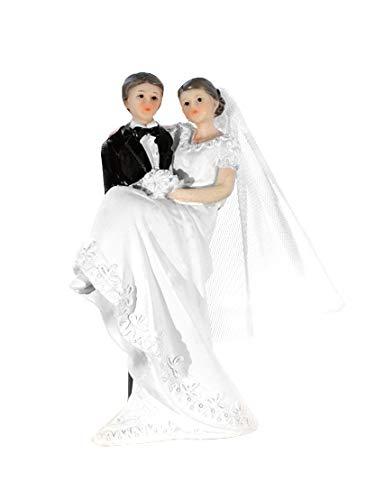 Figura parfa tarta de boda Modelo: novio llevando a la novia