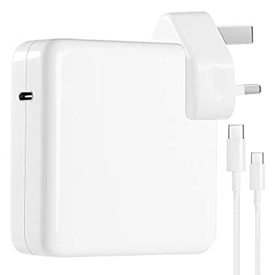 Mac Charger USB C 87w Power Adapter Compatible with Macbook Pro 13/15 inch 2016-2019 New Mac Air Charger