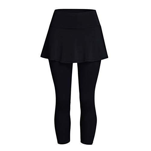 Rincr Falda Casual para Mujer Leggings Pantalones de Tenis Fitness Deportivo Culotte Corto Leggings sin Costura Ropa Deportiva