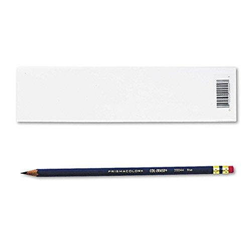 3x Prismacolor Col-Erase Erasable Colored Pencils, 12lápices de color azul (20044)