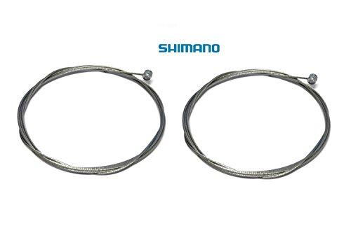 2 x Bremsseil Innenzug Shimano Bremsinnenzug Bremse Bowdenzug 2000mm Edelstahl