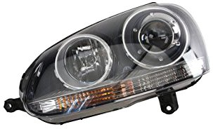 06 jetta headlight assembly - 6