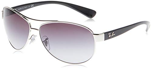 Ray-Ban MOD-3386 Ray-Ban Sonnenbrille MOD. 3386 Aviator Sonnenbrille 63, Silber