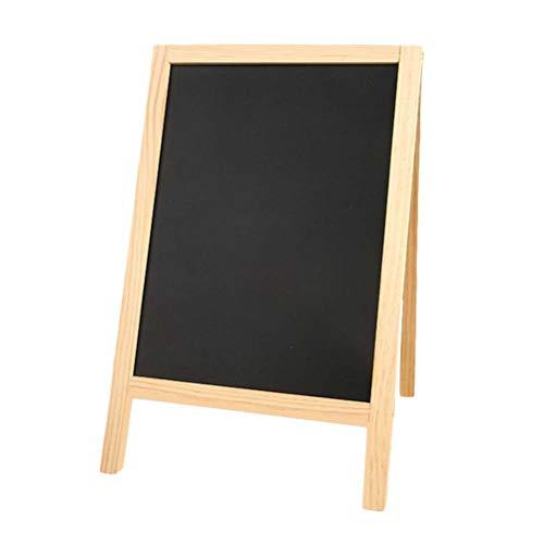 supvox Mini Holz Stativ Tafel Double Side Nachricht Pads für Kinder Bar Schule 25x 40cm