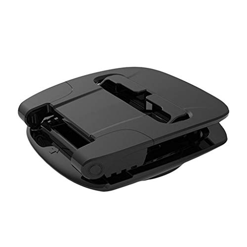 Soporte de teléfono móvil para coche giratorio 360 ° de Eariy, soporte horizontal y vertical, soporte para teléfono de coche vertical horizontal para smartphones, válido para smartphones de 3 a 7 pulgadas