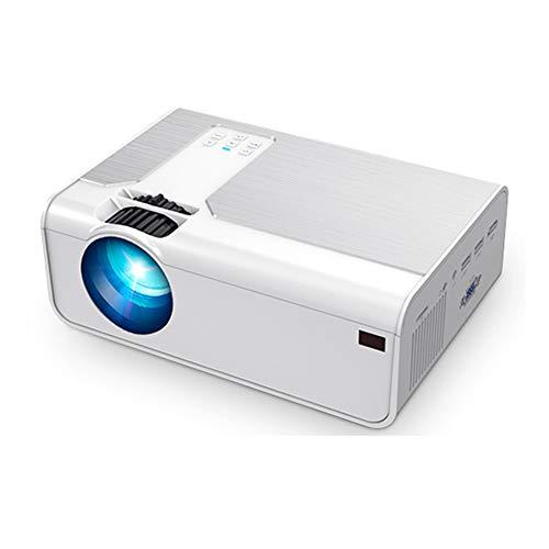 Yanghao Proyector Portátil, 1080P Llevó El Proyector para Sistema De Cine Proyector Portátil 1280X720p Resolución 3D Proyector De Vídeo