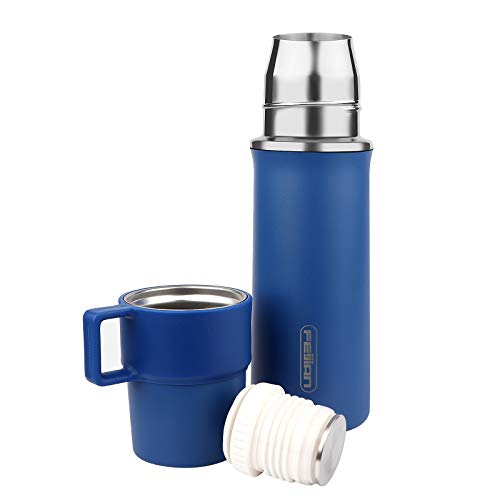 FEIJIAN Thermos Add-A-Cup Water Bottle Insulated