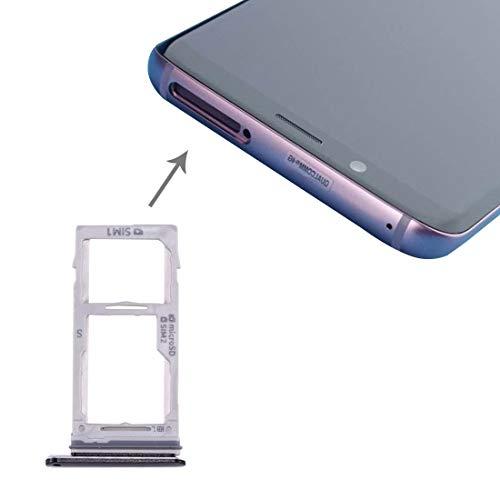 AMOYO OFEE for Galaxy S9 + / S9 SIM y la Bandeja de SIM/Micro SD Card (Negro) (Color : Grey)