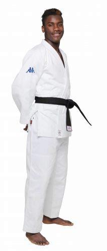 Kappa4Judo Atlanta - Judogi Unisex Adulto, Unisex Adulto, KP30240A09015, Bianco, 5/180 cm