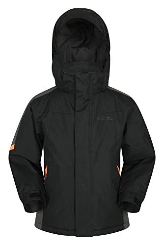 Mountain Warehouse Raptor Kids Snow Jacket - Snowproof, Fleece Lined - For...