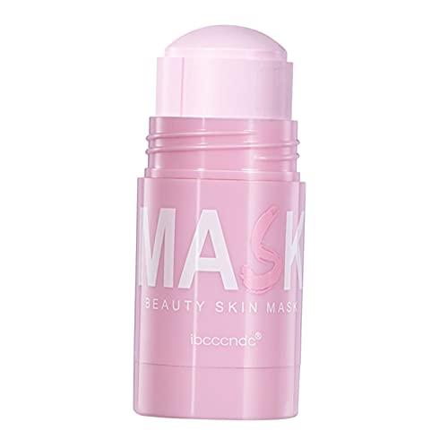 Milageto Mascarilla facial de arcilla purificadora de rosas Hidratante Reducir los poros Elimina el cuidado facial anti-acné Mejora la piel