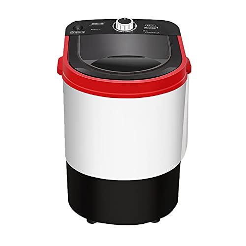 Lavadoras Mini lavadora portátil semiautomática con UV Azul Luz Antibacterial y Cesta de Drenaje,22 0V /260W Enjuague y energía de giro,Máquina de lavandería compacta for apartamentos Apartamentos Cam