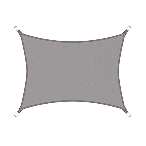Yuan Ou Vela de Sombra Toldos Impermeables Exterior Impermeable 300d Gray Garden Terrace Natación 200cm x 300cm Color 1