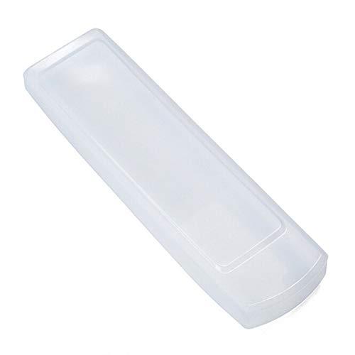 Housse de protection etanche en silicone Ainstsk pour telecommande TV avec etui de rangement pour climatisation excellente sensation tactile 16 x 5 cm