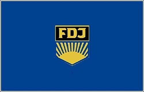 UB Fahne/Flagge DDR FDJ 90 cm x 150 cm Neuware!!!